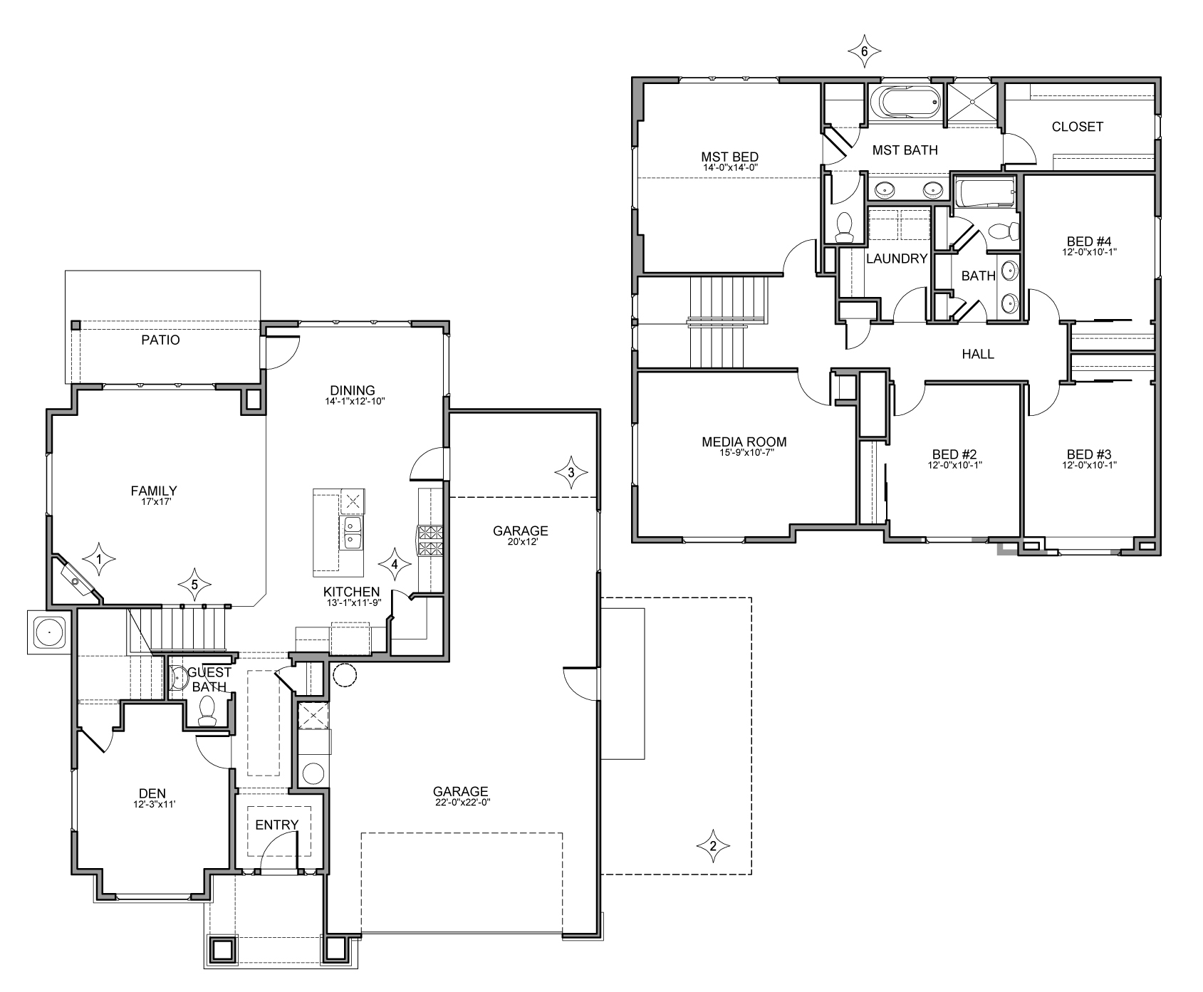 Magnolia tuscany for Magnolia homes floor plans